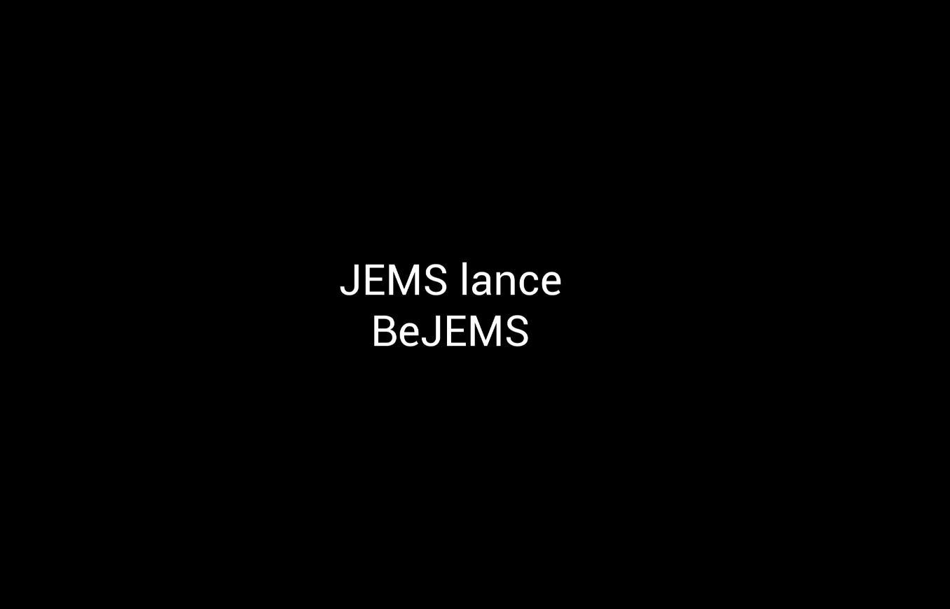 Trailer de lancement du réseau social de JEMS