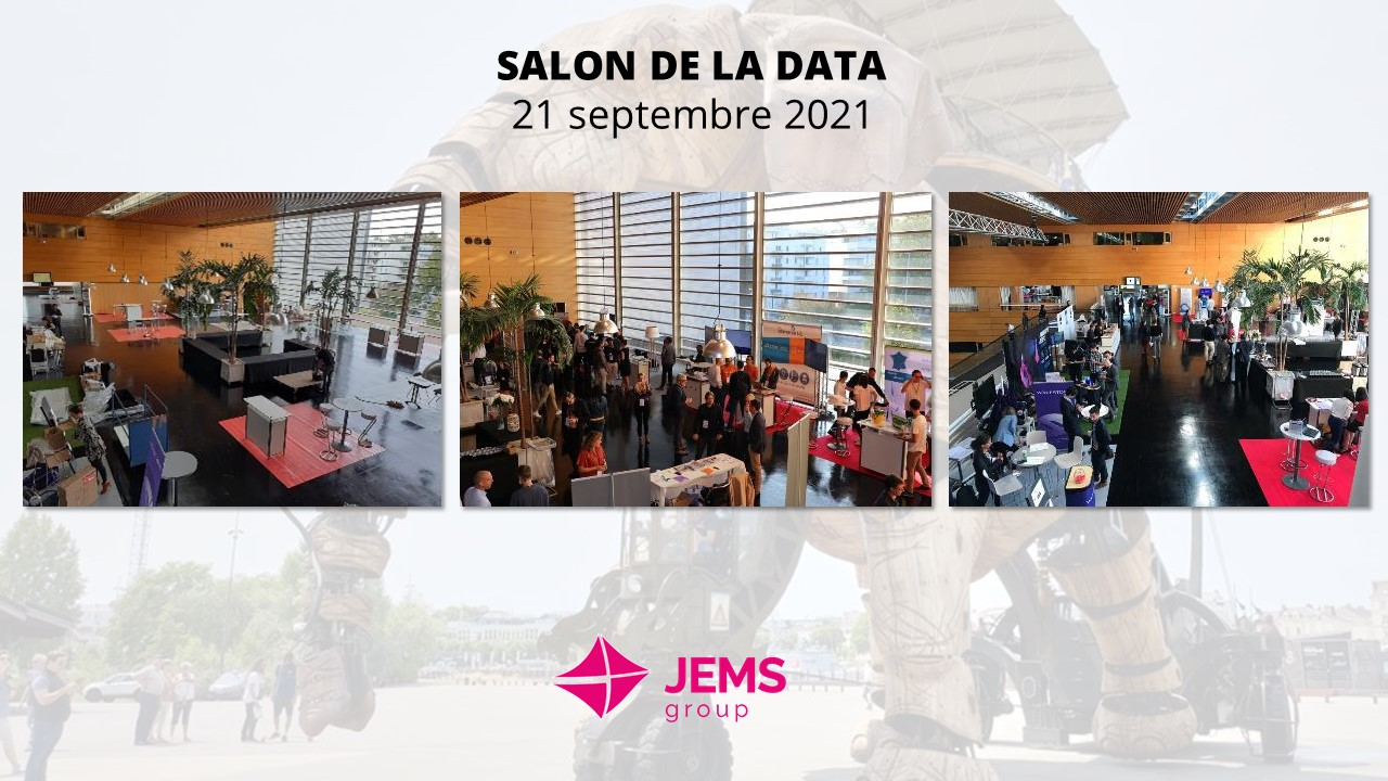 JEMS sera present au salon de la data à Nantes