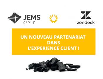 JEMS s'associe avec Zendesk pour personnaliser l'expérience client !